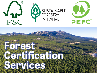 Forest Certification services