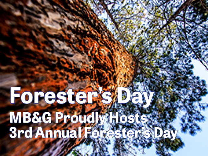 MB&G Hosts Foresters Day