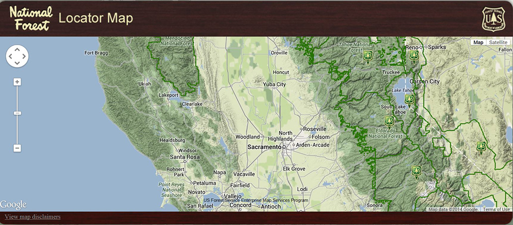 USDA Forest Service Region 5 GIS and Remote Sensing