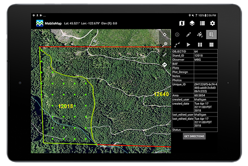 MobileMap- Forestry Application