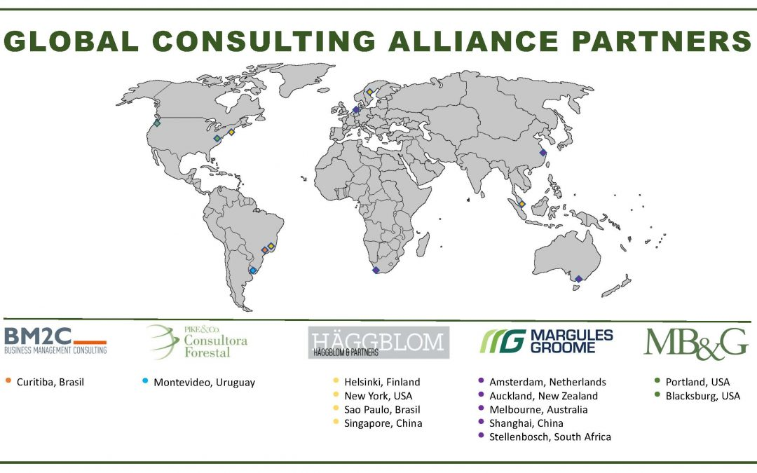 MB&G has joined the Global Consulting Alliance, a world-wide network of leading forestry consulting firms